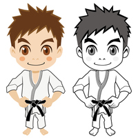 Boy of Gi [3208230] Karate
