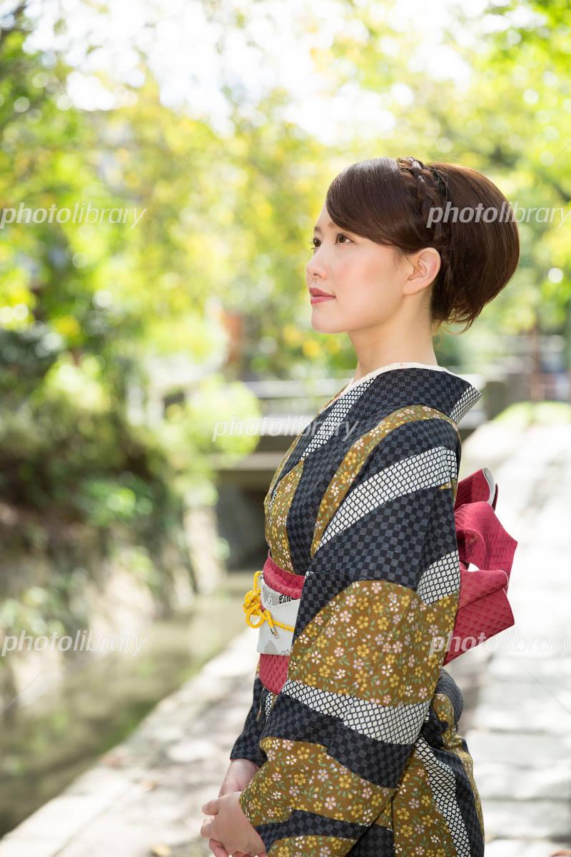Women's kimono Photo