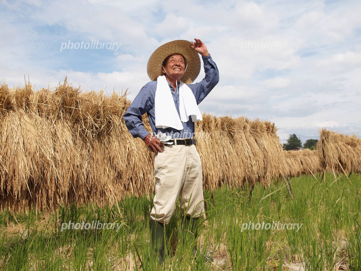 Grandfather of farmers Photo