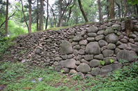 Minowa Castle Sannomaru Ishigaki Stock photo [3399789] Minowa