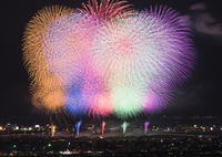 Colorful fireworks Stock photo [3399827] Fireworks