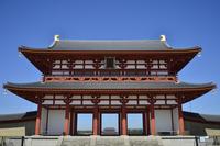 World Heritage Heijokyo Suzakumon Stock photo [3401505] Heijokyo