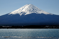 Shining lake and Mount Fuji Stock photo [3403306] Mt.