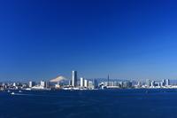 Minato Mirai & Mount Fuji Stock photo [3403437] All