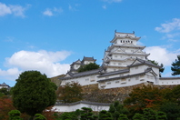 Early fall of Himeji Castle Stock photo [3404000] Himeji