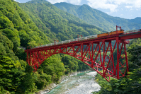 Kurobe Gorge Railway Stock photo [3405255] Toyama