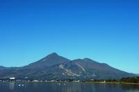 Lake Inawashiro and Bandai Stock photo [3407255] Lake