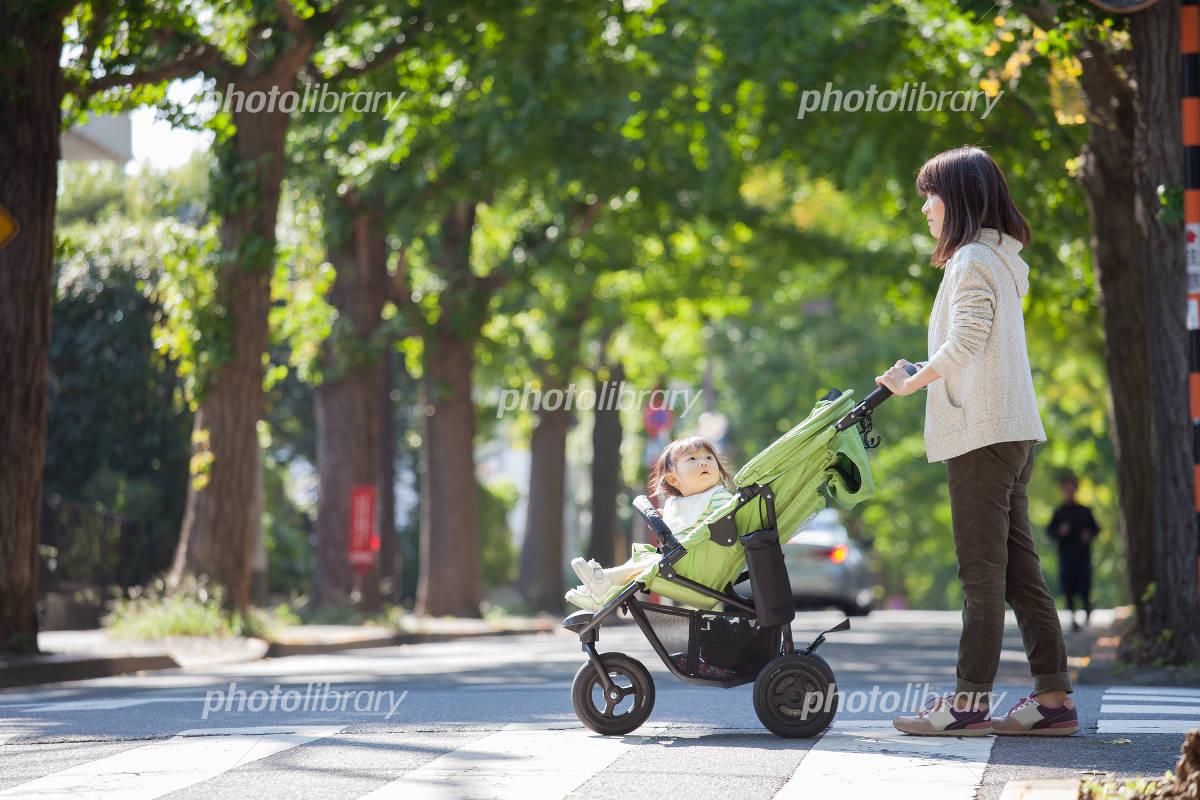 Walk parent-child Photo