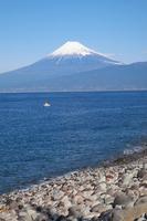 大瀬崎からみた富士山