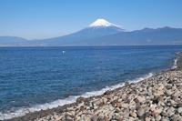 大瀬崎から見た富士山