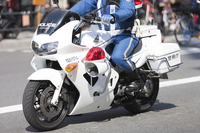 Motorcycle police Stock photo [3493904] Motorcycle