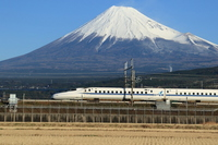 Fuji and N700A Stock photo [3498317] Railway