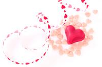Valentine Heart Chocolate and Heart of ribbon Stock photo [3501352] Valentine