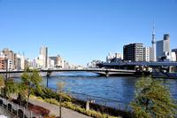 Ryōgoku Bridge (Ryōgoku Bridge) neighborhood Stock photo [3502502] Bridge