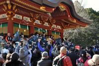 Kamakura Tsuruoka Hachiman Shrine Setsubun Stock photo [3607316] Tsuruoka