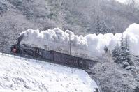 SL train to go the Joetsu Line of snow Stock photo [3609660] SL