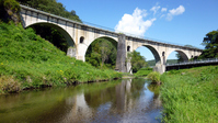 Miyamori River bridges Stock photo [3611559] Iwate