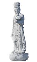 Guanyin Bodhisattva statue [white back] Stock photo [3611602] Kannon