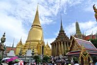 Bangkok Temple of the Emerald Buddha Stock photo [3703475] Thailand