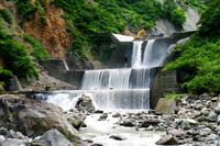 Sabo dam (Toyama) Stock photo [3703866] Erosion-control