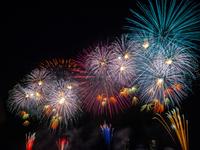 Edogawa fireworks Stock photo [3707213] Edogawa