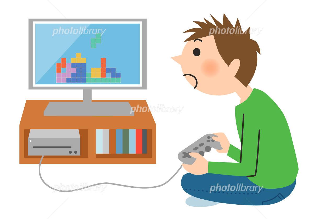 ゲームをする子供 イラスト素材 3822794 フォトライブラリー