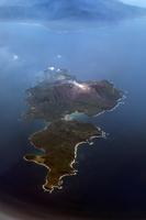 Seen from airplane Kuchinoerabujima Stock photo [3816318] Kyushu