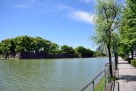 日比谷通りから見た内堀と皇居