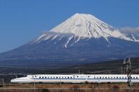 Shinkansen and Mt. Fuji Stock photo [3820126] Bullet