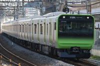 Yamanote line E235 system tow 01 organization commissioning Stock photo [3827129] Railway