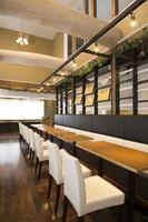 New construction of the restaurant interior Stock photo [3929201] Restaurant