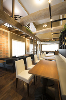 New construction of the restaurant interior Stock photo [3929202] Restaurant