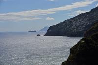カプリ島遠景