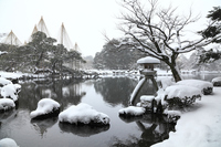 Kenrokuen of snow Stock photo [3929245] Snow