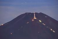 夜の富士山頂