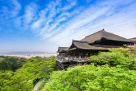Kyoto World Heritage Site Kiyomizu-dera stock photo