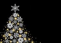 Christmas tree snowflake [4018203] Snow
