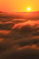 Tono sea of \clouds Stock photo [4019393] Iwate