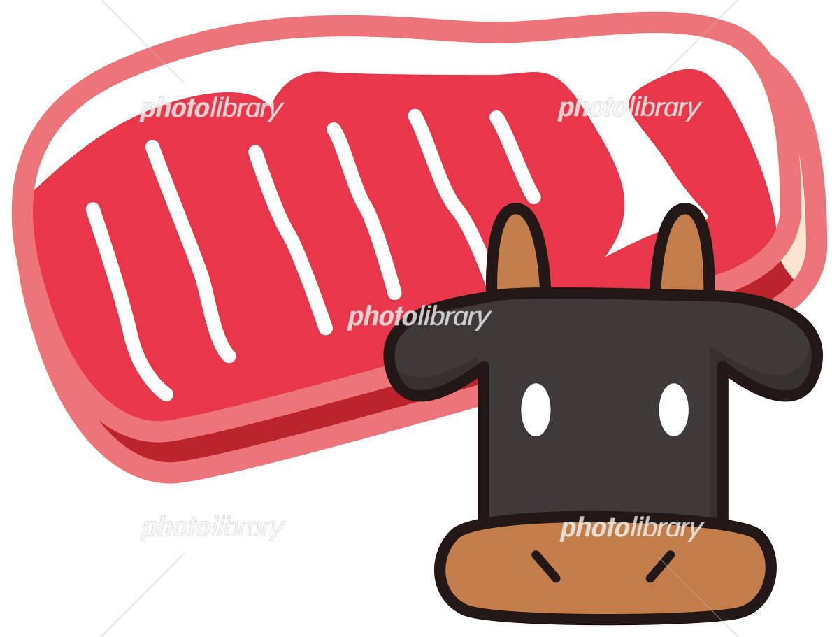 牛ステーキ肉 イラスト素材 4101420 フォトライブラリー Photolibrary