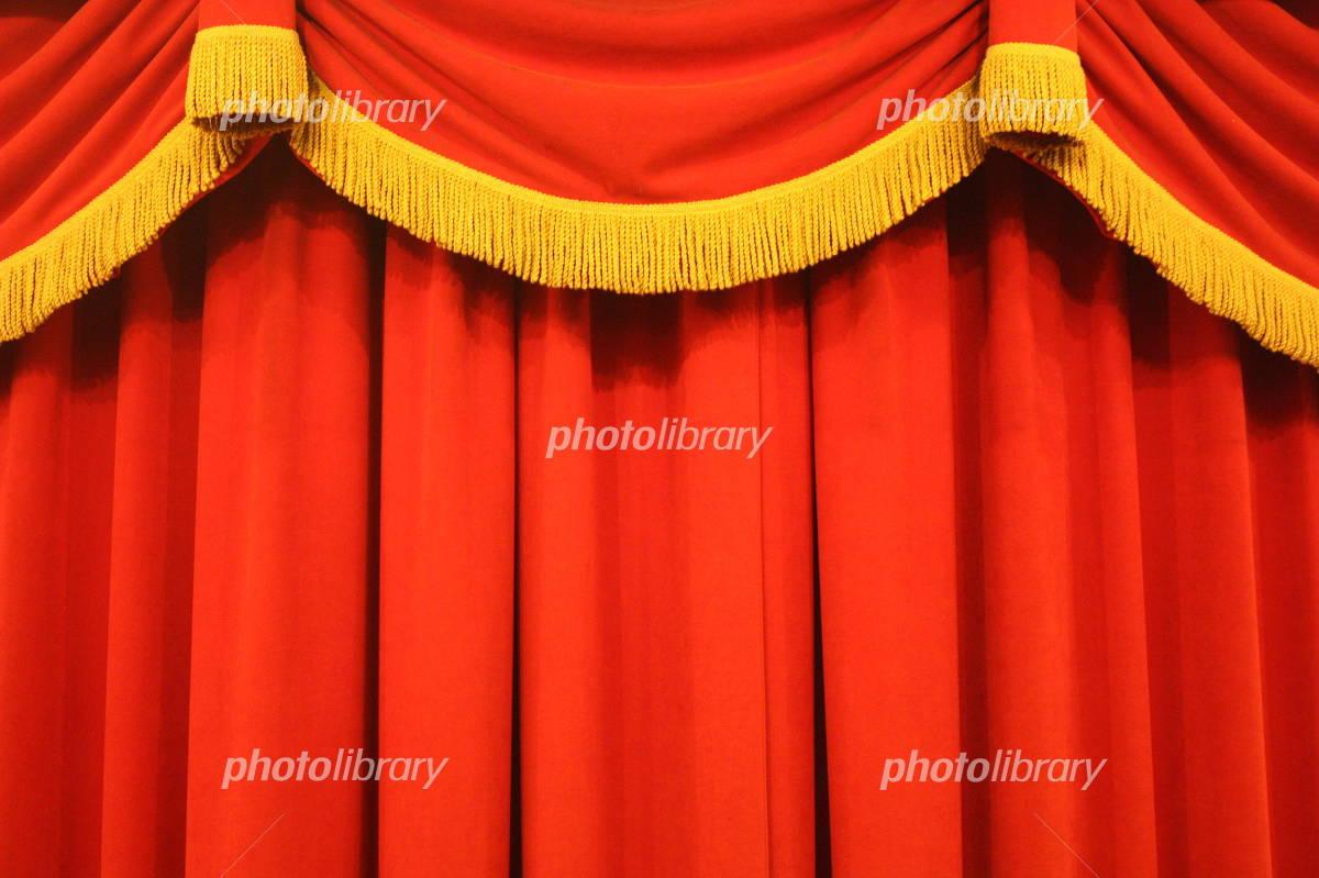 ステージ幕 写真素材 [ 4105290 ] - フォトライブラリー photolibrary