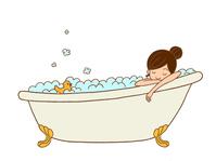 Women in bathing [4104358] Female