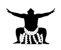 Sumo silhouette [4159679] Sumo