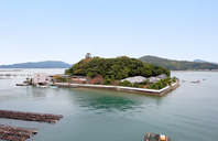 Mikimoto Pearl Island Stock photo [4162984] Mikimoto