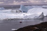 Ilulissat ice fjord in Greenland Stock photo [4163237] Greenland