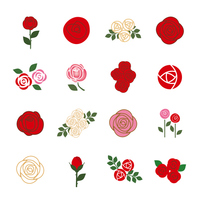 It rose icon [4166480] Rose