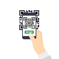 Smartphone to read the QR code [4335764] Sumaho