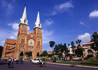 Saigon Notre-Dame Basilica Stock photo [140734] Asia