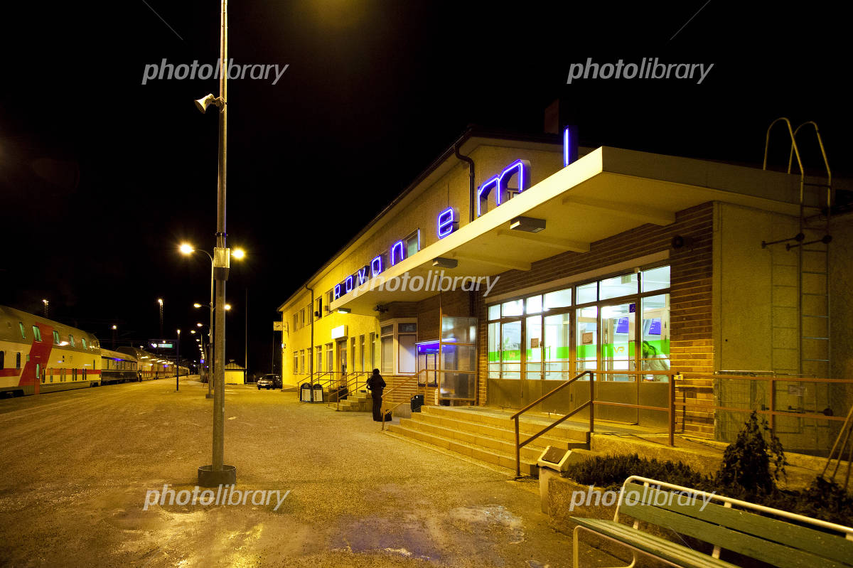 ロヴァニエミ駅 - Rovaniemi railway station - JapaneseClass.jp