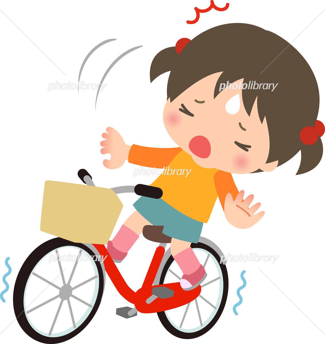 「自転車 転ぶ 子供 無料」の画像検索結果