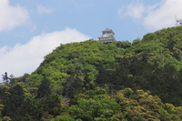 Kinka and Gifu Castle late spring Stock photo [4407164] Kinka